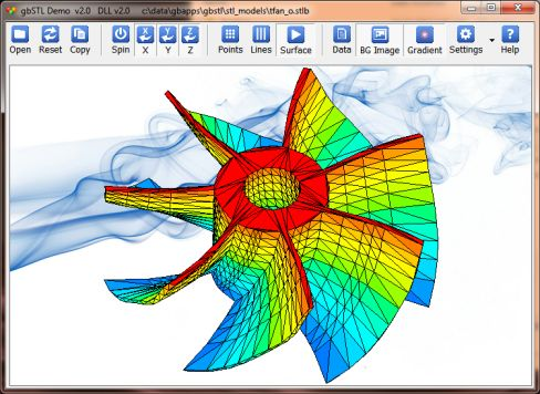 gbSTL - STL Viewer Implemented as DLL (Discussion) - PowerBASIC Peer